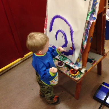 Easel painting@QACP